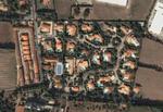 Vue sur le lotissement (Google Earth)