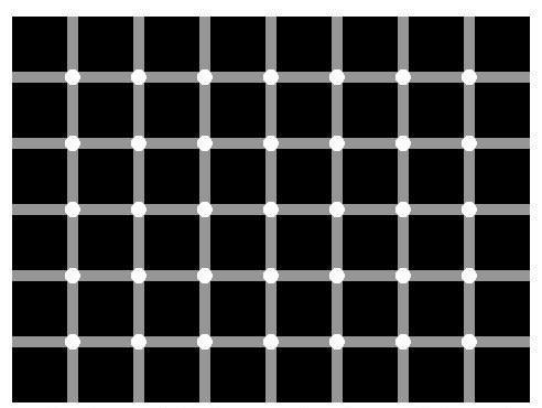 Comptez les points noirs !