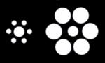 Les disques au milieu sont identiques