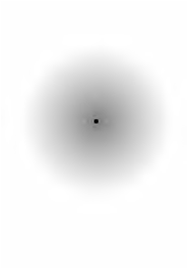 Fixez le point noir