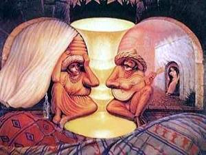 Deux jeunes amoureux